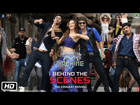 Machine Diaries | Behind The Scenes | The Zingaat Moves | Mustafa | Kiara Advani