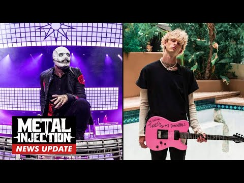 MACHINE GUN KELLY Feuds With SLIPKNOT At Riot Fest   Metal Injection