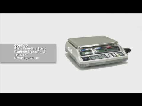 Parts Counting Scale CDSC-30