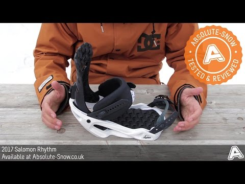 2016 / 2017 | Salomon Rhythm Snowboard Bindings | Video Review