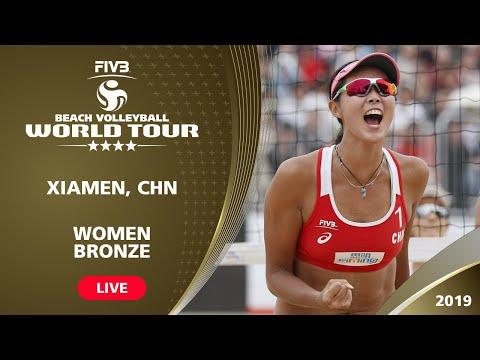 Xiamen 4-Star 2019 - Women Bronze Medal - Beach Volleyball World Tour