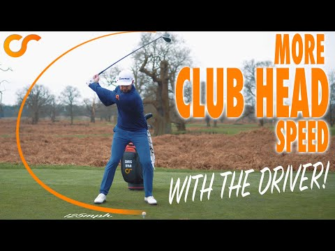 3 WAYS TO ADD CLUB HEAD SPEED WITH THE DRIVER