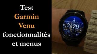 vidéo test Garmin Venu par Montre cardio GPS