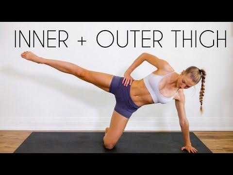 10 min INNER & OUTER THIGH BURN Workout (No Equipment)