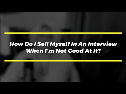 Interview Tips: How to Sell Yourself in a Job Interview photo