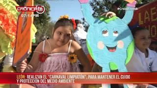"""""""Nagarote Por Siempre Limpio"""", campaña de limpieza a nivel municipal - Nicaragua"""