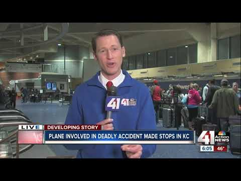 Plane involved in deadly crash made stops into KCI