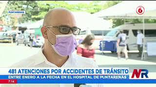 Hospital de Puntarenas con ocupación al 100% de camas para pacientes críticos y moderados Covid 19