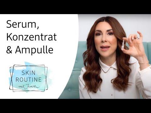 Serum, Konzentrat & Ampullen - Was ist das eigentlich?   Skin Routine mit Judith Williams
