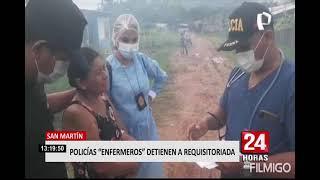 Agentes Terna simulan ser enfermeros para detener a mujer requisitoriada