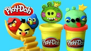 Play-Doh Angry Birds Build 'n Smash Game