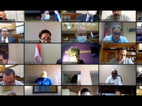 Senadores rechazan voto censura a José Ortiz