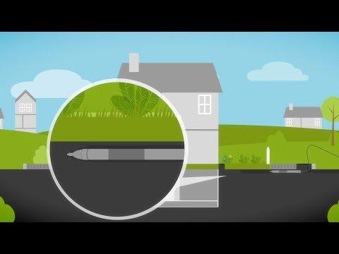 So wird Ihr Haus an das Glasfasernetz angeschlossen