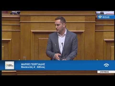 Μ.Γεωργιάδης / Ολομέλεια, Βουλή /13-11-2017
