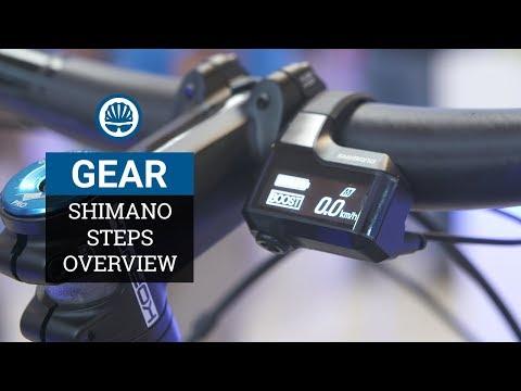 Shimano Steps MTB E7000 - New Mid-Range E-Bike Groupset