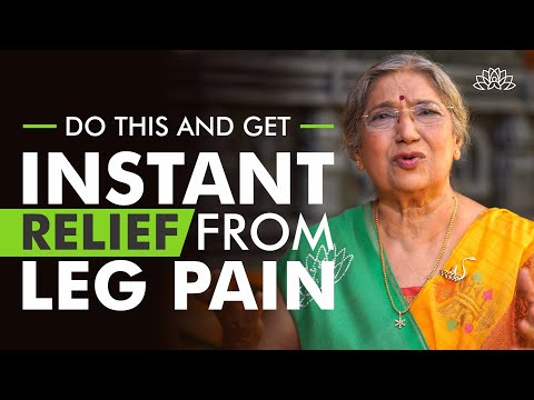 How to get instant relief from Leg Pain? | Dr. Hansaji Yogendra