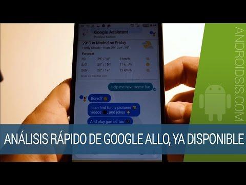 Análisis de Google Allo, la nueva app de chat con Google Assistant