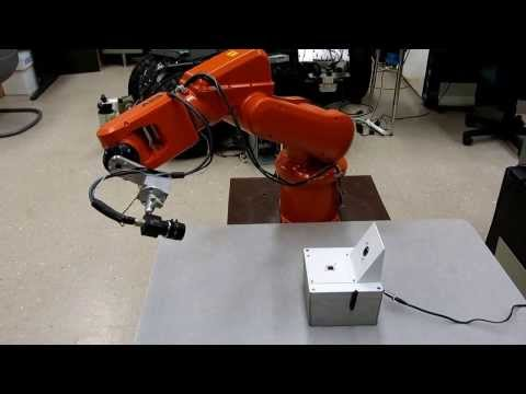 Multi-position Alignment Control for Automated Robot Calibration
