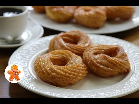 Французские Пончики ✧ French Crullers ✧ French Donuts