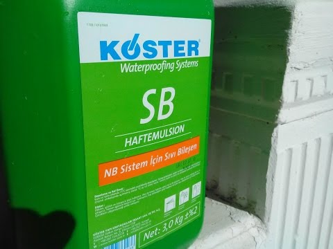 Koster Waterproofing system