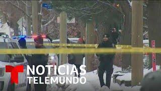 Tiroteo en la capital de Canadá deja un muerto y tres heridos | Noticias Telemundo