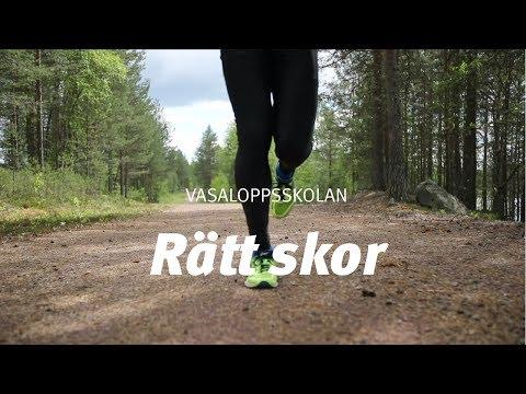 Vasaloppsskolan löpning – Rätt skor