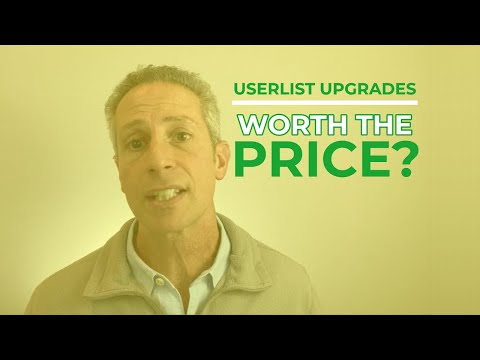 Userlist Upgrades from .io to .com; Was it Worth the Purchase Price?