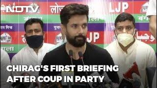 Continuous Efforts By Janata Dal United, Others To Break Up Lok Janshakti Party: Chirag Paswan - NDTV