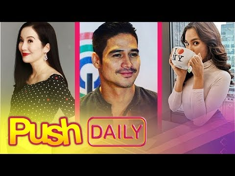 Push Daily Top 3: Kris Aquino, Piolo Pascual and Catriona Gray