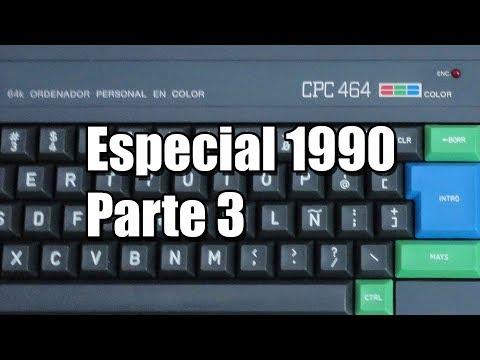 Especial Amtrad CPC: 1990 parte 3