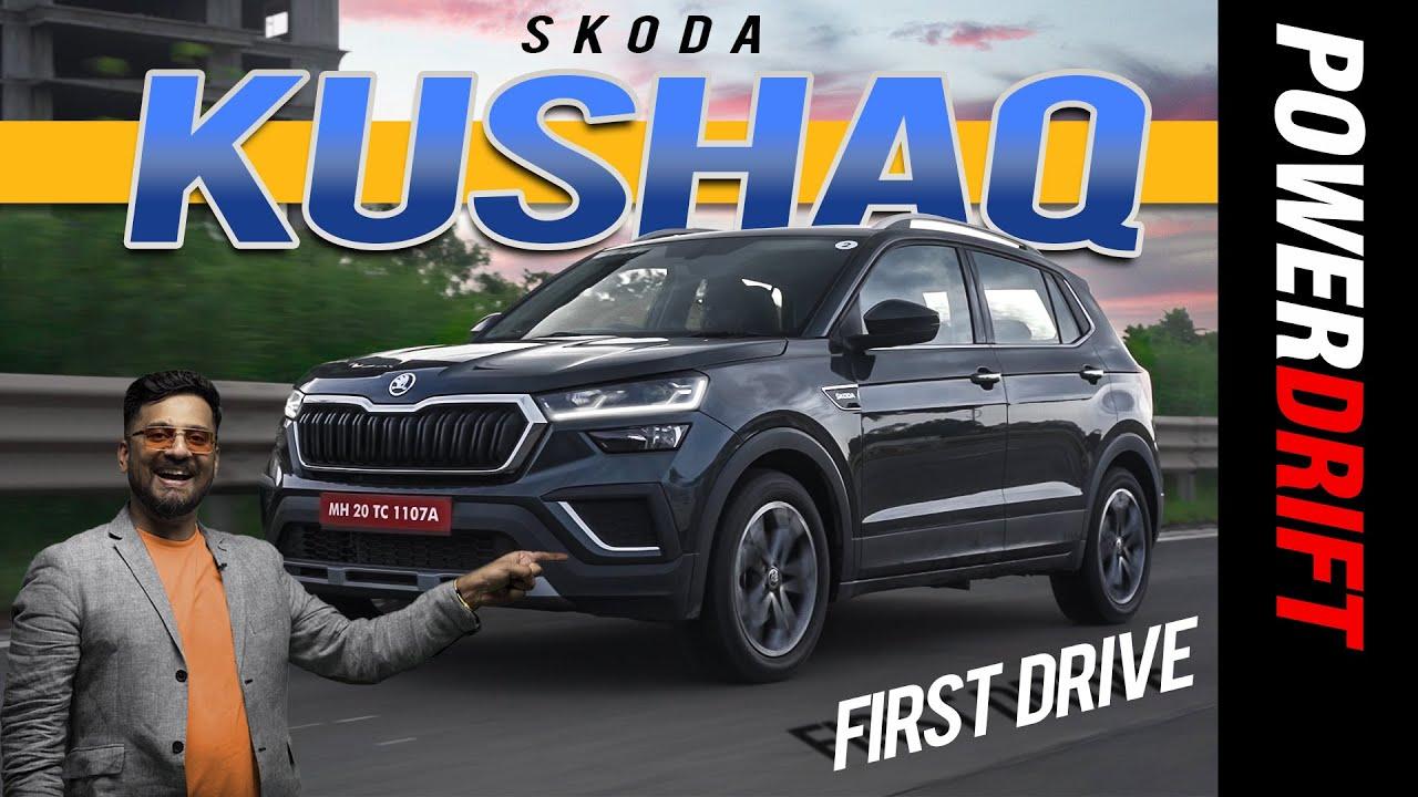 Skoda Kushaq | First Drive Review | PowerDrift