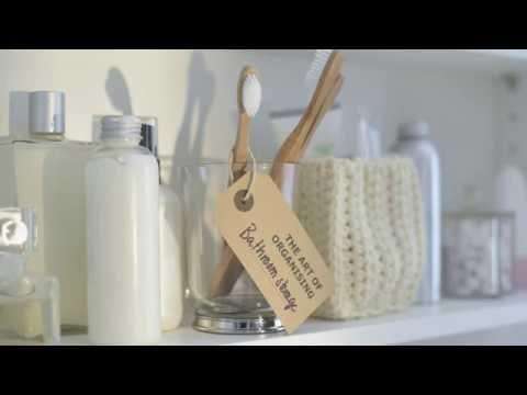 The Art of Organising: Bathroom Storage