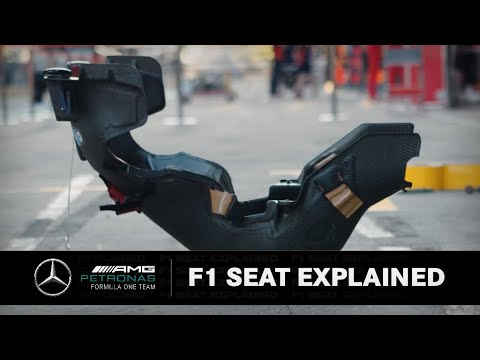 F1 Driver Seat EXPLAINED!