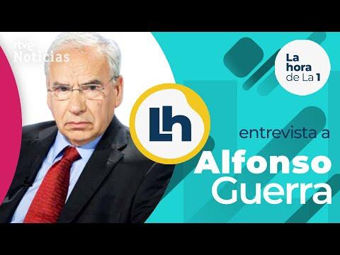 ALFONSO GUERRA: «Sostener una alianza con Bildu y Podemos no es una tarea democrática» | RTVE