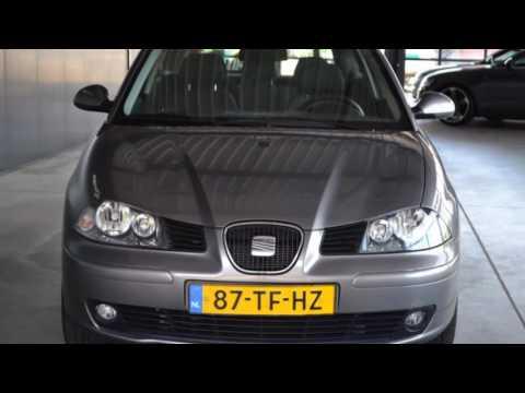 Seat Ibiza 1.4-16V SENSATION Airco ECC Cruise control Licht m