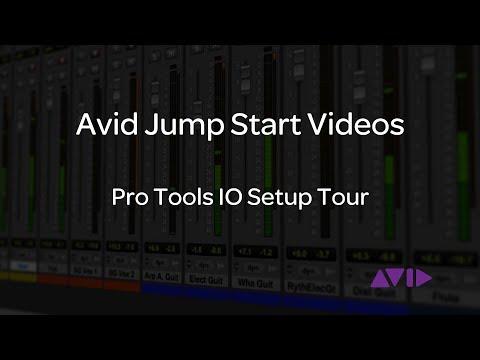 Avid Jump Start Video - Pro Tools IO Setup Tour