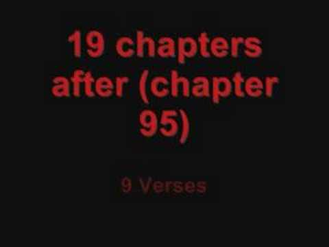 The Miracle of the number 19 in The Holy Quran