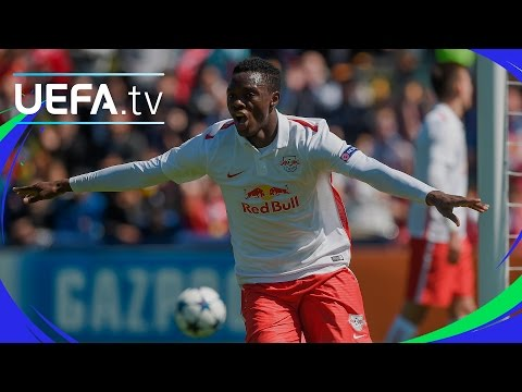 Semi-final highlights: Barcelona v Salzburg