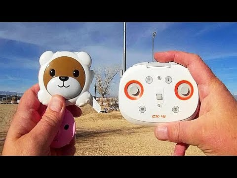 Cheerson CX 41 Happy Zoo Position Hold Drone Flight Test Review