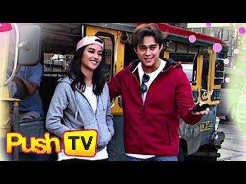 Push TV: Enrique Gil at Liza Soberano, nang-prank ng mga tao sa jeep