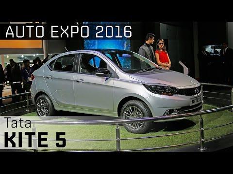 Tata Kite 5 :: 2016 Auto Expo WalkAround Video :: ZigWheels