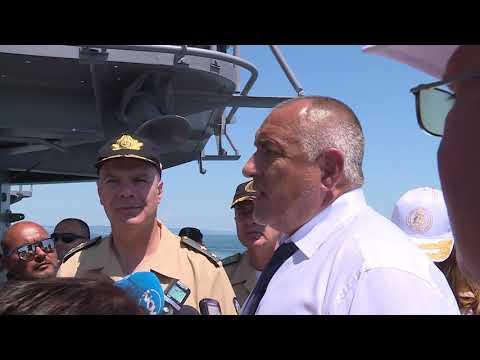 Борисов: 5 милиарда са необходими за модернизирането на Военноморските сили