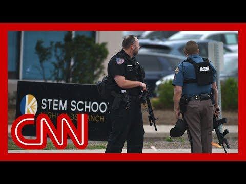 At least 8 injured in school shooting in suburban Denver