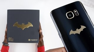 Batman Edition Galaxy S7 Edge!