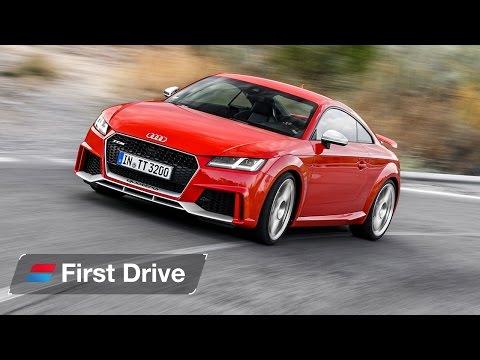2016 Audi TT RS first drive review: A half-price R8?