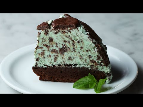 Mint Chocolate Cookie Dome ? Tasty