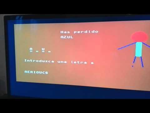 PROGRAMAR UN VIDEOJUEGO: EL AHORCADO,  AMIGA 1200