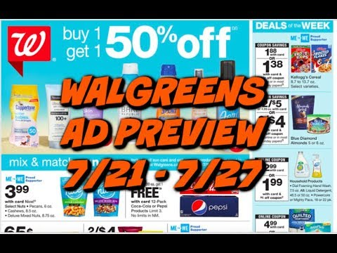 WALGREENS AD PREVIEW (7/21 - 7/27) 🔥 DEALS COMING THIS WEEK!