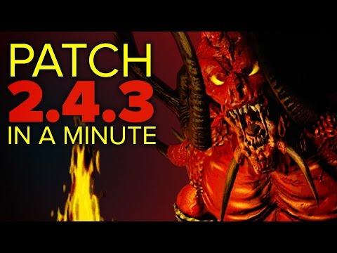 Diablo 3 - Patch 2.4.3 in a Minute