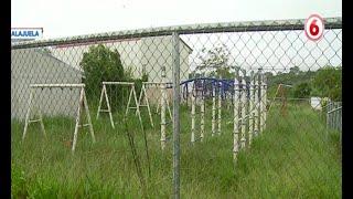 Denuncian abandono de parque infantil en Alajuela